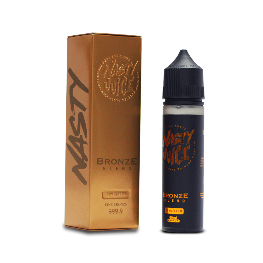 Bronze Blend Caramel Tobacco | 60ml E-Liquid