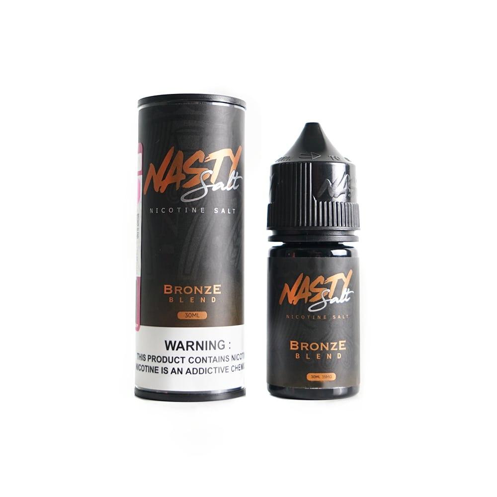 Bronze Blend Caramel Tobacco Salt | 30ML E-LIQUID