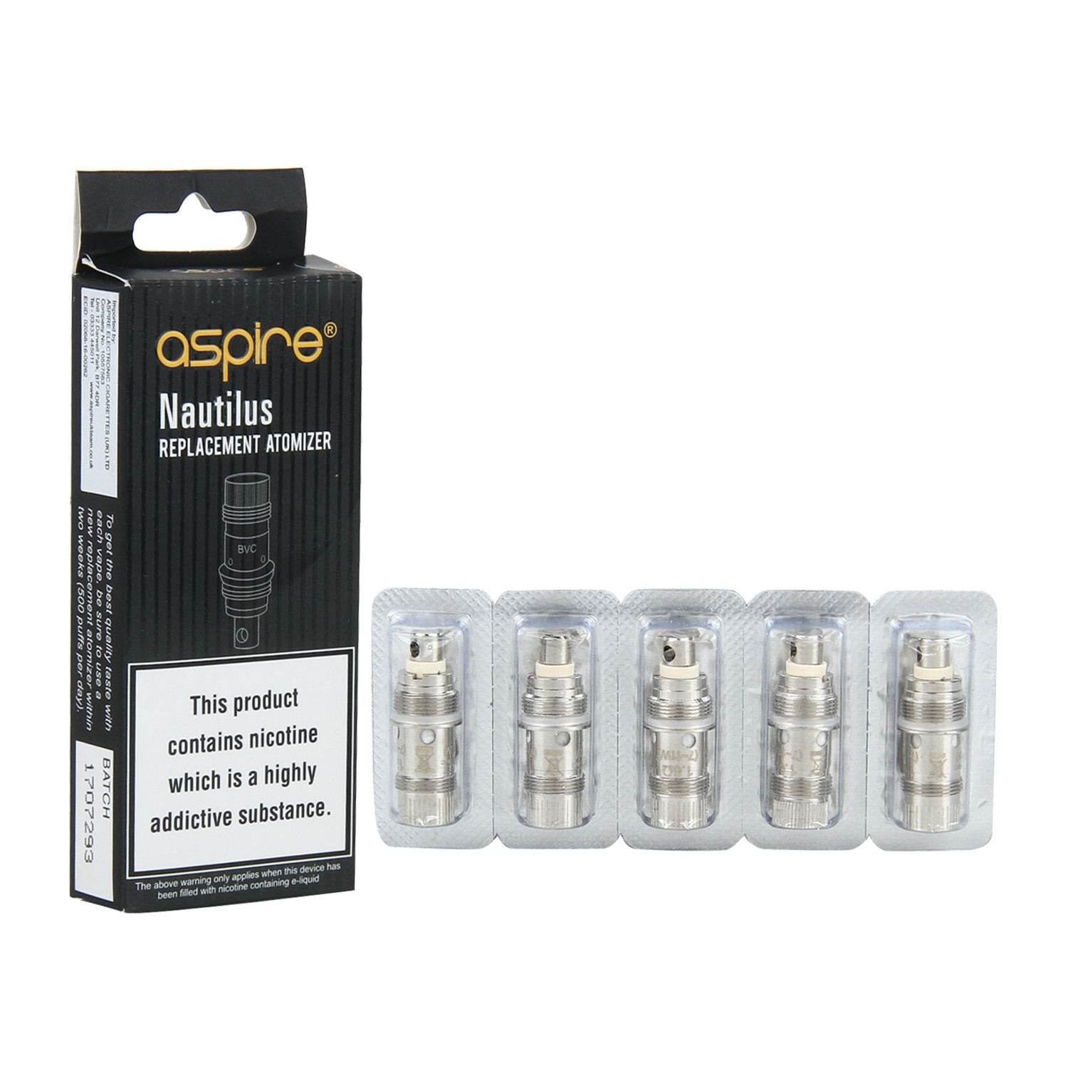 Nautilus Replacement Atomizer | Coil