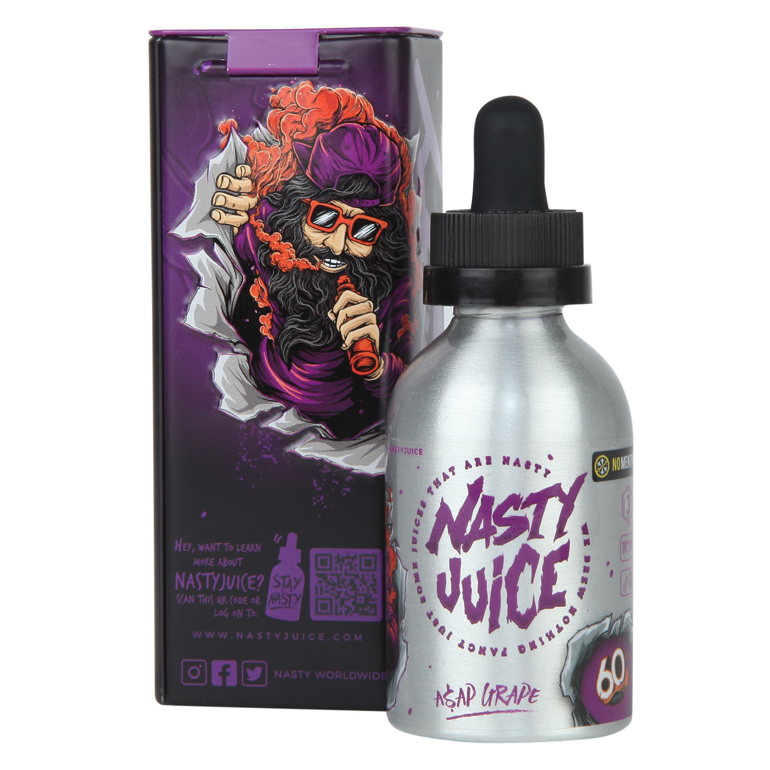 Asap Grape | 60ml E-liquid