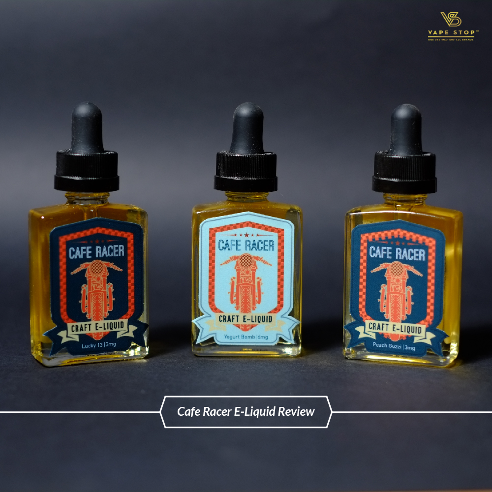 Cafe Racer E-Liquid Review